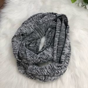 Apana Heathered Grey Infinity Scarf Nursing Cover